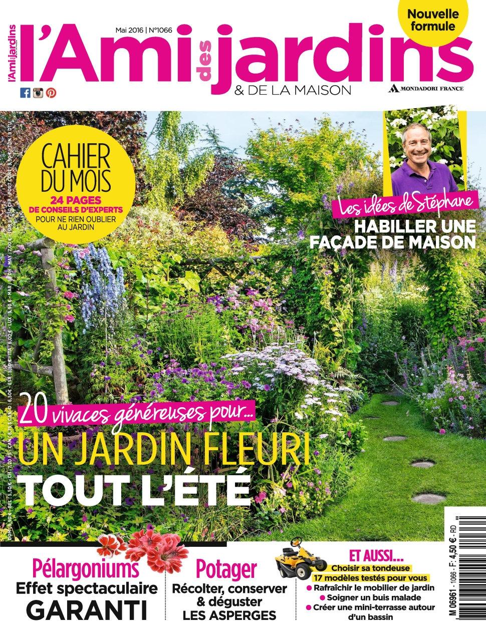 L'Ami des Jardins N°1066 - Mai 2016