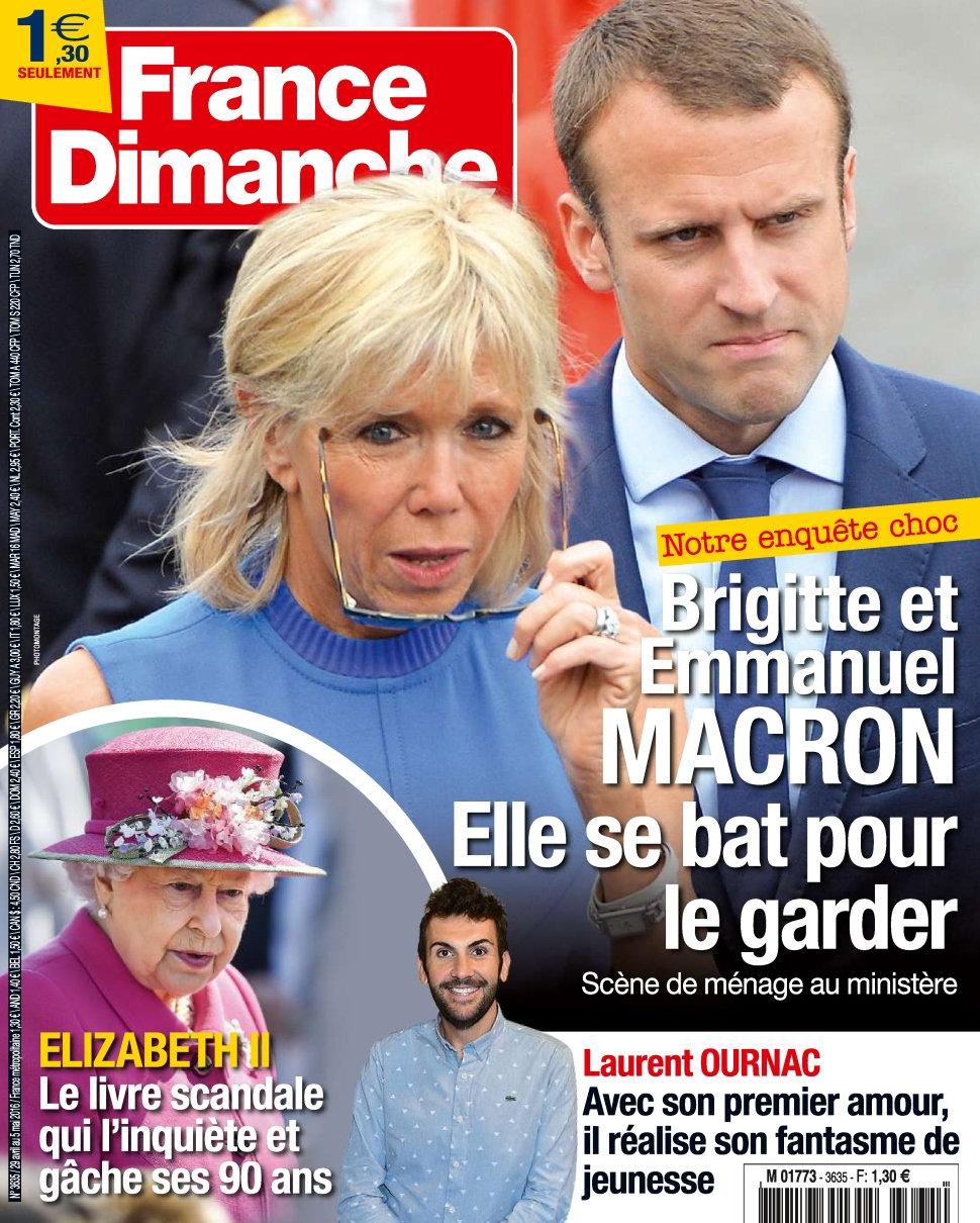 France Dimanche N°3635 - 29 Avril au 5 Mai 2016