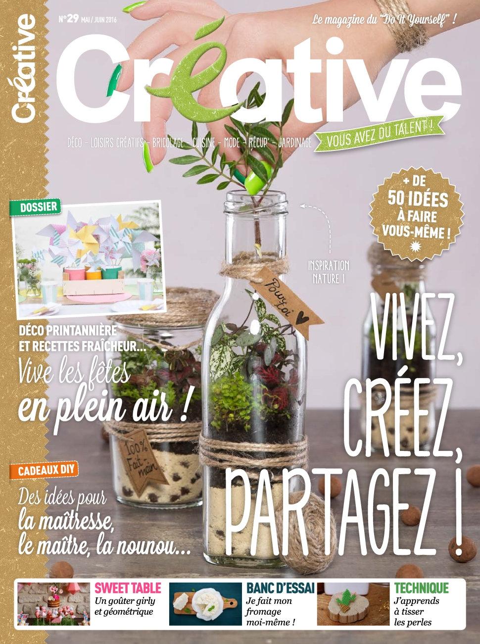 Créative N°29 - Mai/Juin 2016