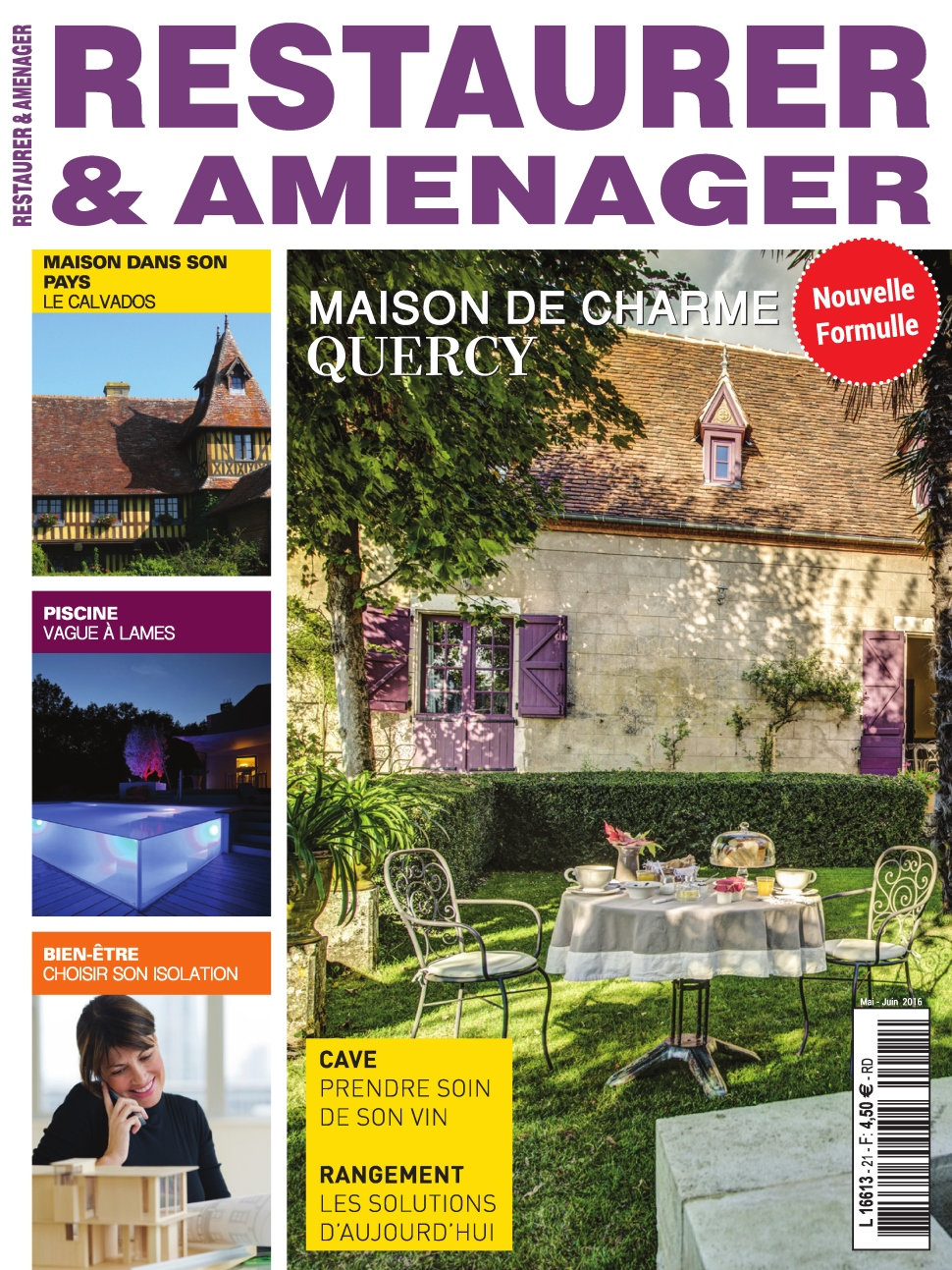 Restaurer & Aménager N°21 - Mai/Juin 2016