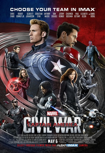 Captain America Civil War 2016 720p/1080p HD-TC x264 AC3-FEWAT