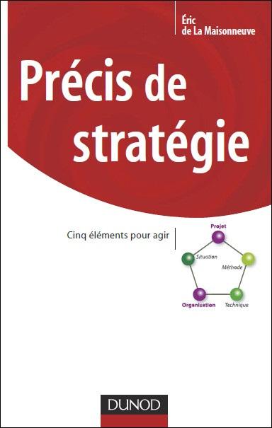 Précis de stratégie : Cinq éléments pour agir