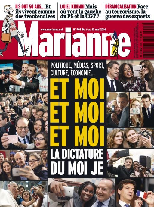 Marianne N°995 -  6 au 12 Mai 2016