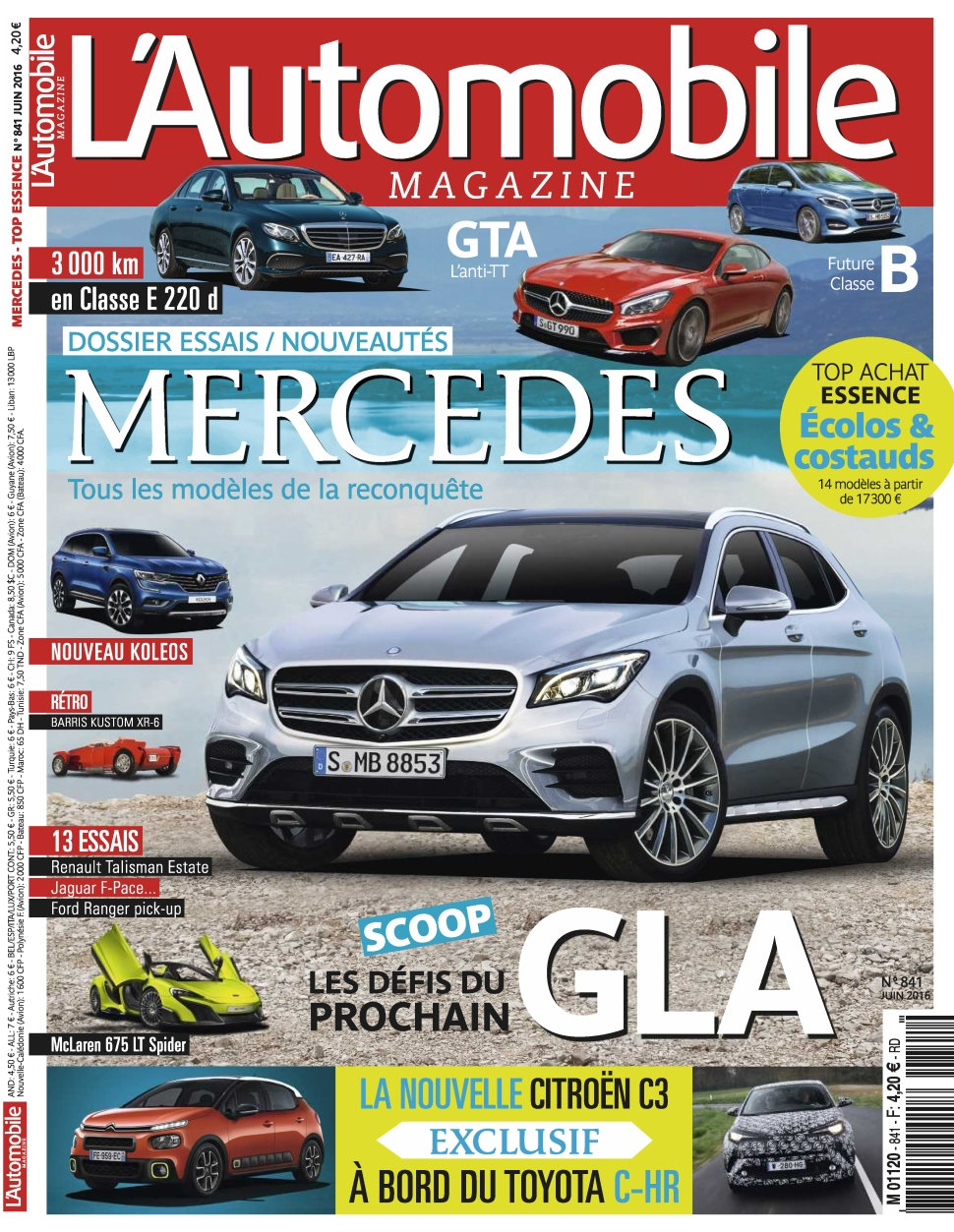 L'Automobile magazine N°841 - Juin 2016