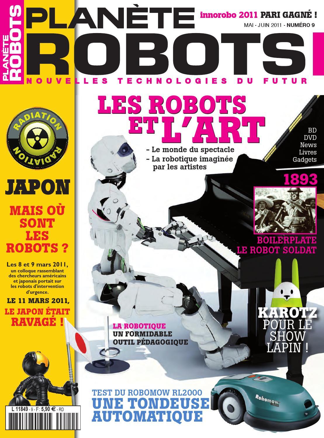 Planète Robots No.9 - Les Robots et L'art