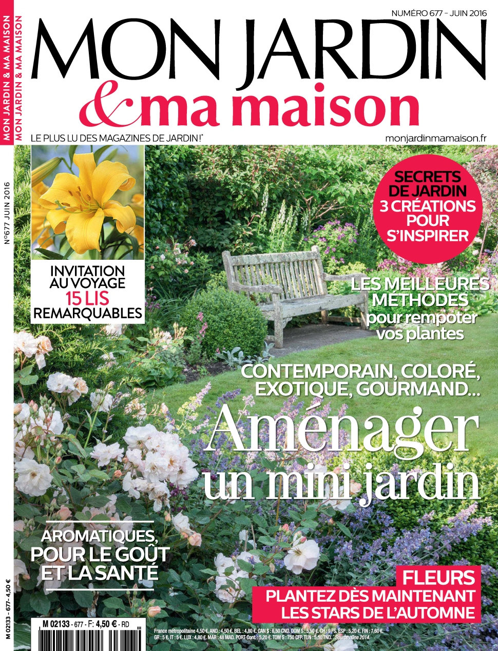Mon Jardin & Ma Maison N°677 - Juin 2016