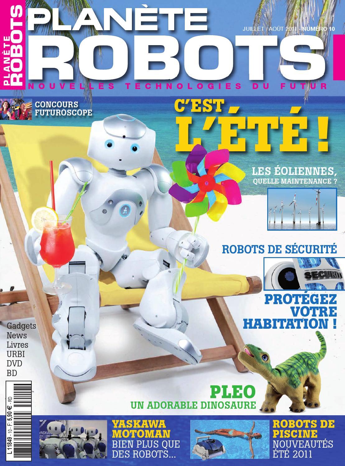 Planète Robots No.10