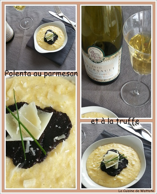 polenta parmesan truffe