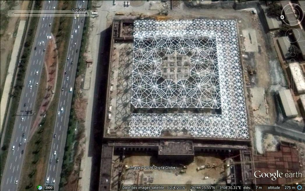 مشروع جامع الجزائر الأعظم: إعطاء إشارة إنطلاق أشغال الإنجاز - صفحة 14 160518025649710008