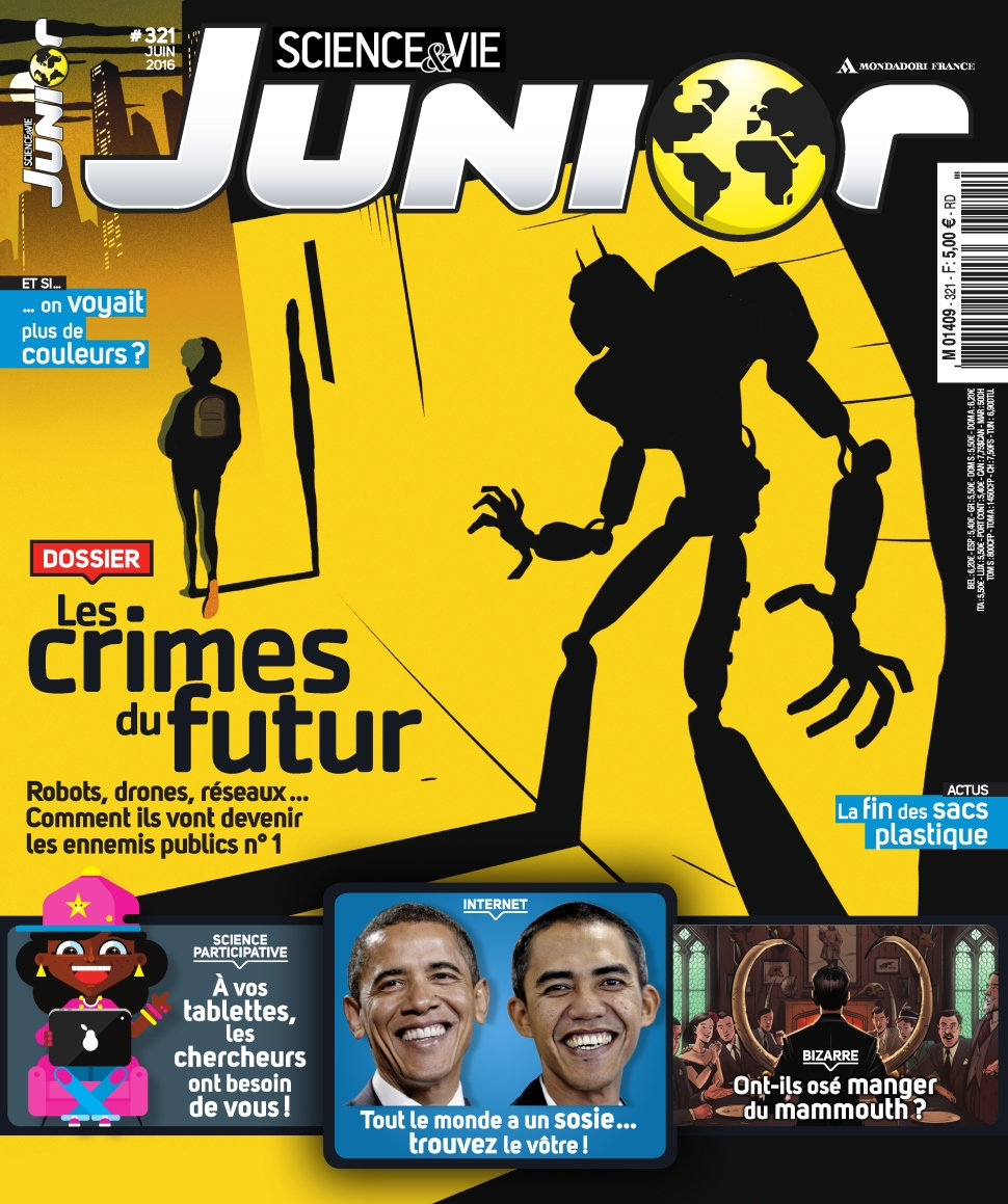 Science & Vie Junior N°321 - Juin 2016