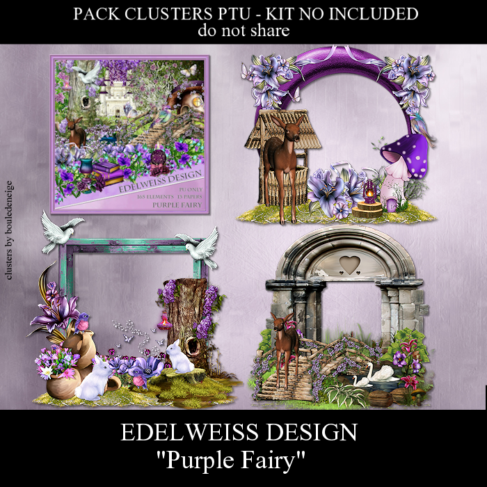 preview clusters purple fairy