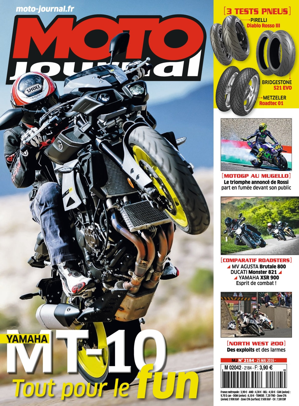 Moto Journal N°2184 - 25 Mai 2016