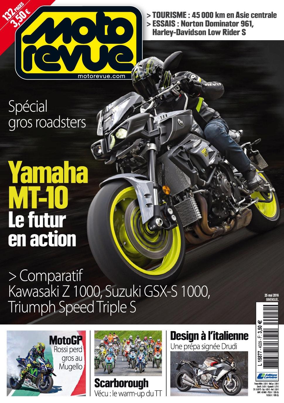 Moto Revue N°4029 - 25 Mai 2016