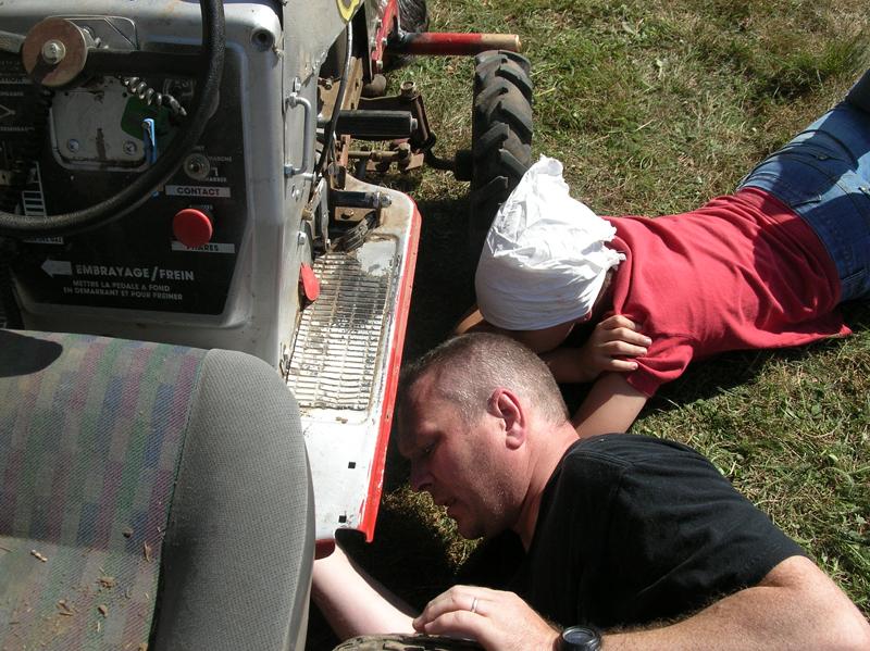 tracteur bricolage