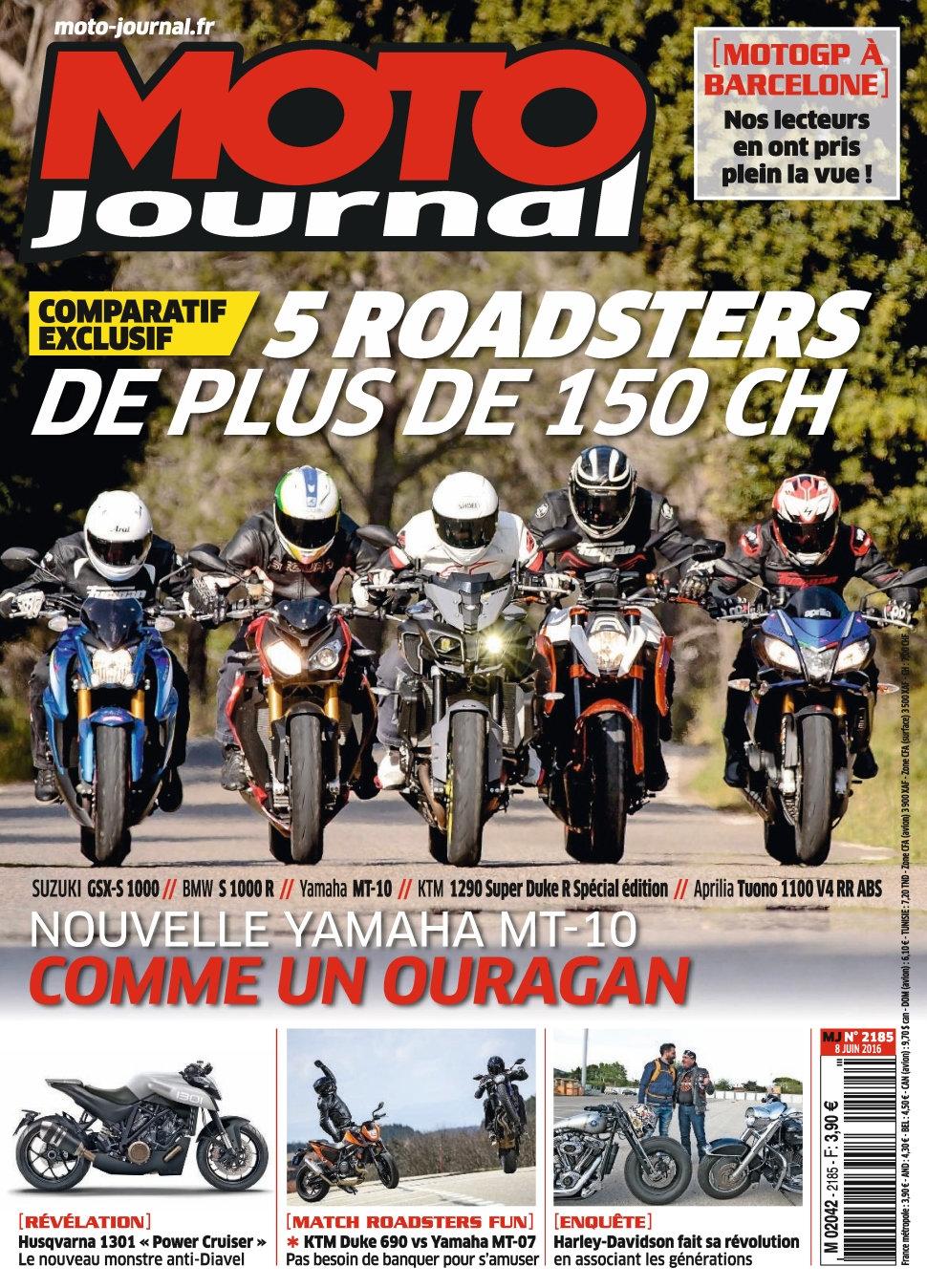Moto Journal N°2185 - 08 Juin 2016