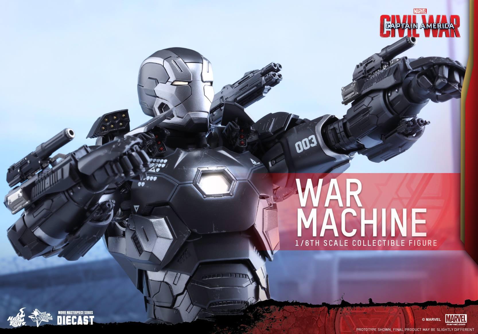 CAPTAIN AMERICA : CIVIL WAR - WAR MACHINE (MMS???DC??) 160617021110403302