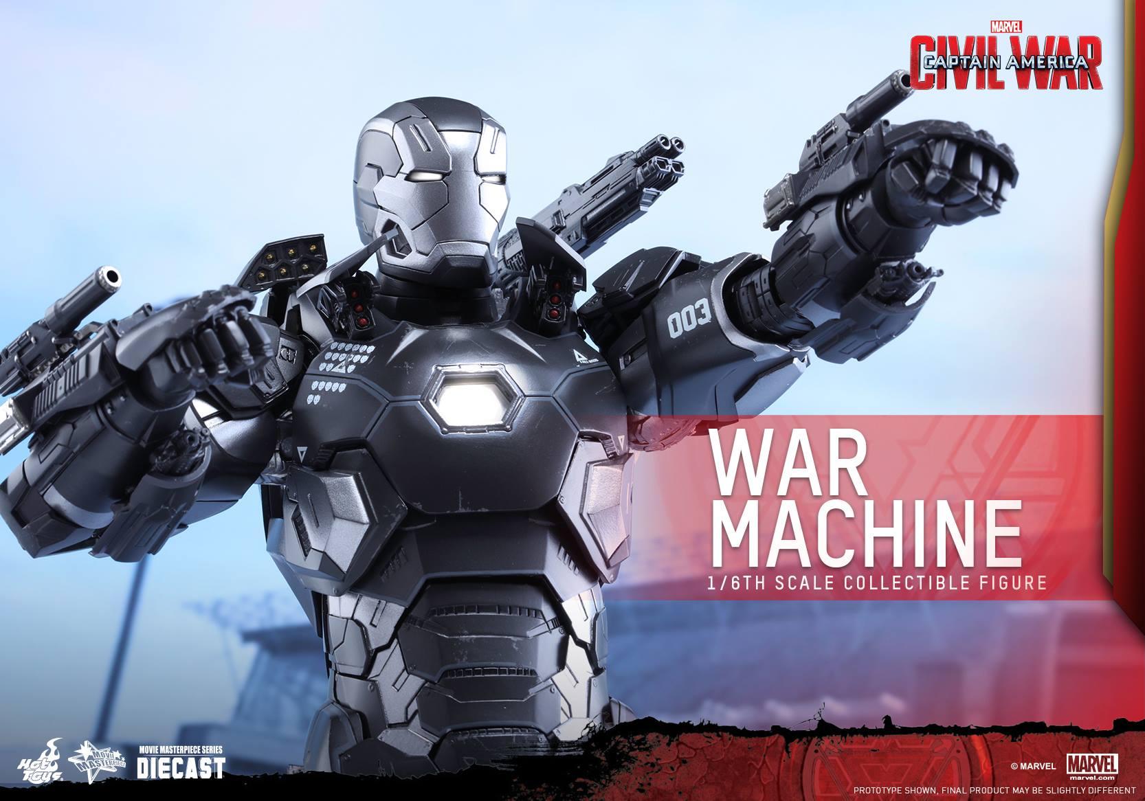 CAPTAIN AMERICA : CIVIL WAR - WAR MACHINE (MMS???DC??) 160617021111756235