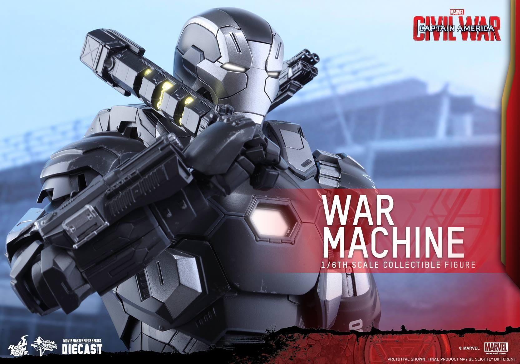 CAPTAIN AMERICA : CIVIL WAR - WAR MACHINE (MMS???DC??) 16061702111555883