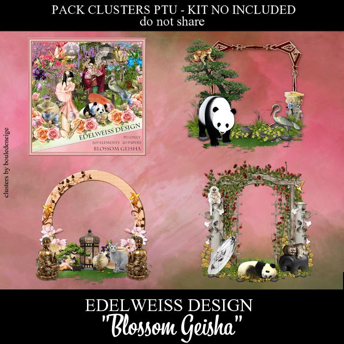 preview clusters blossom geisha