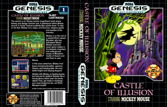 Castle of Illusion Starring Mickey Mouse (USA)