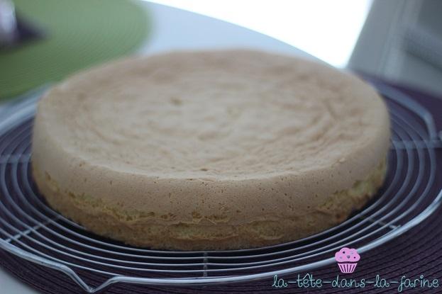 Biscuit aux fruits - gâteau d'anniversaire