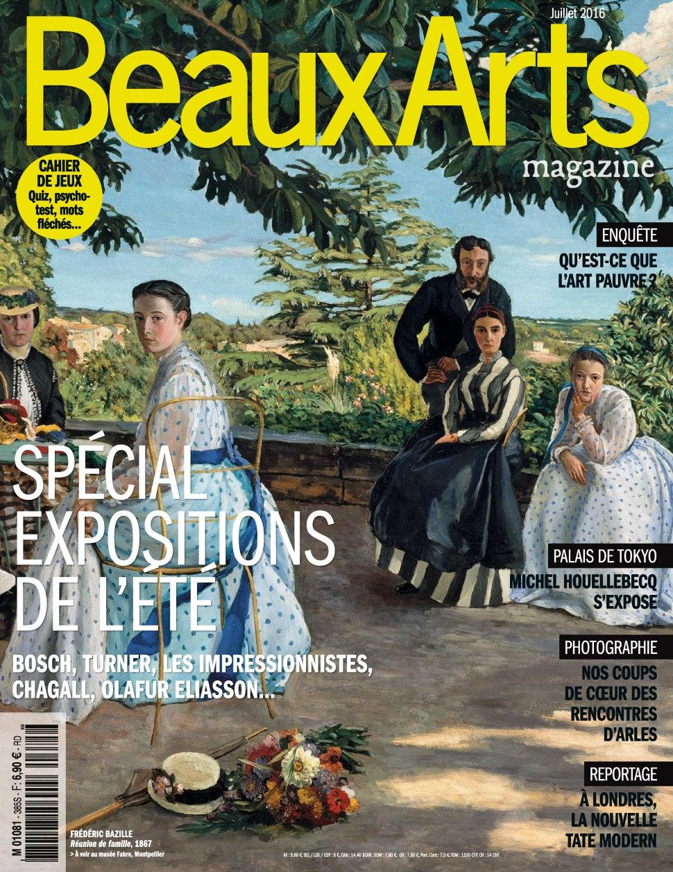 Beaux Arts magazine N°385 - Juillet 2016