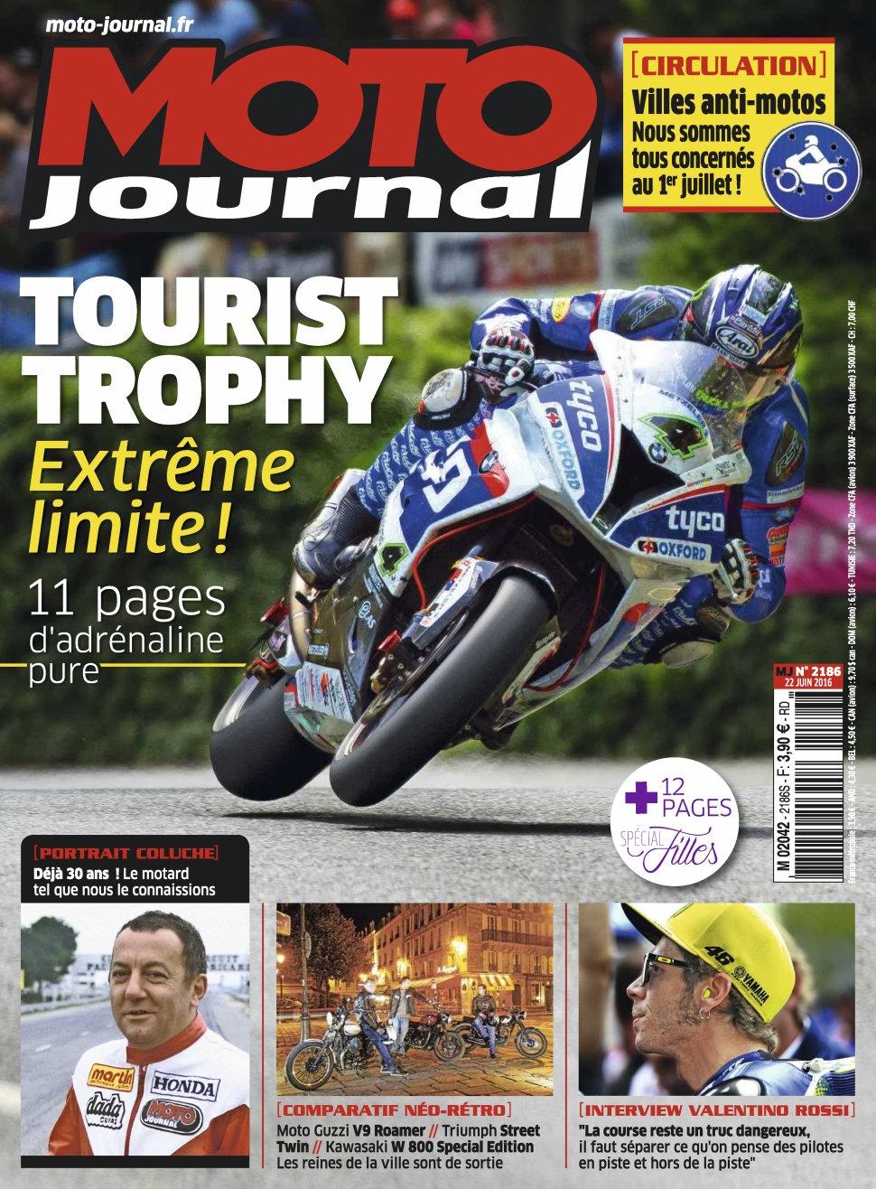 Moto Journal N°2186 - 22 Juin 2016