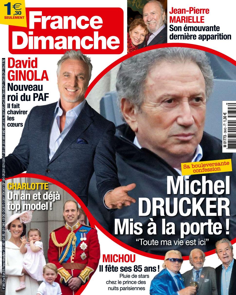 France Dimanche N°3643 - 24 au 30 Juin 2016
