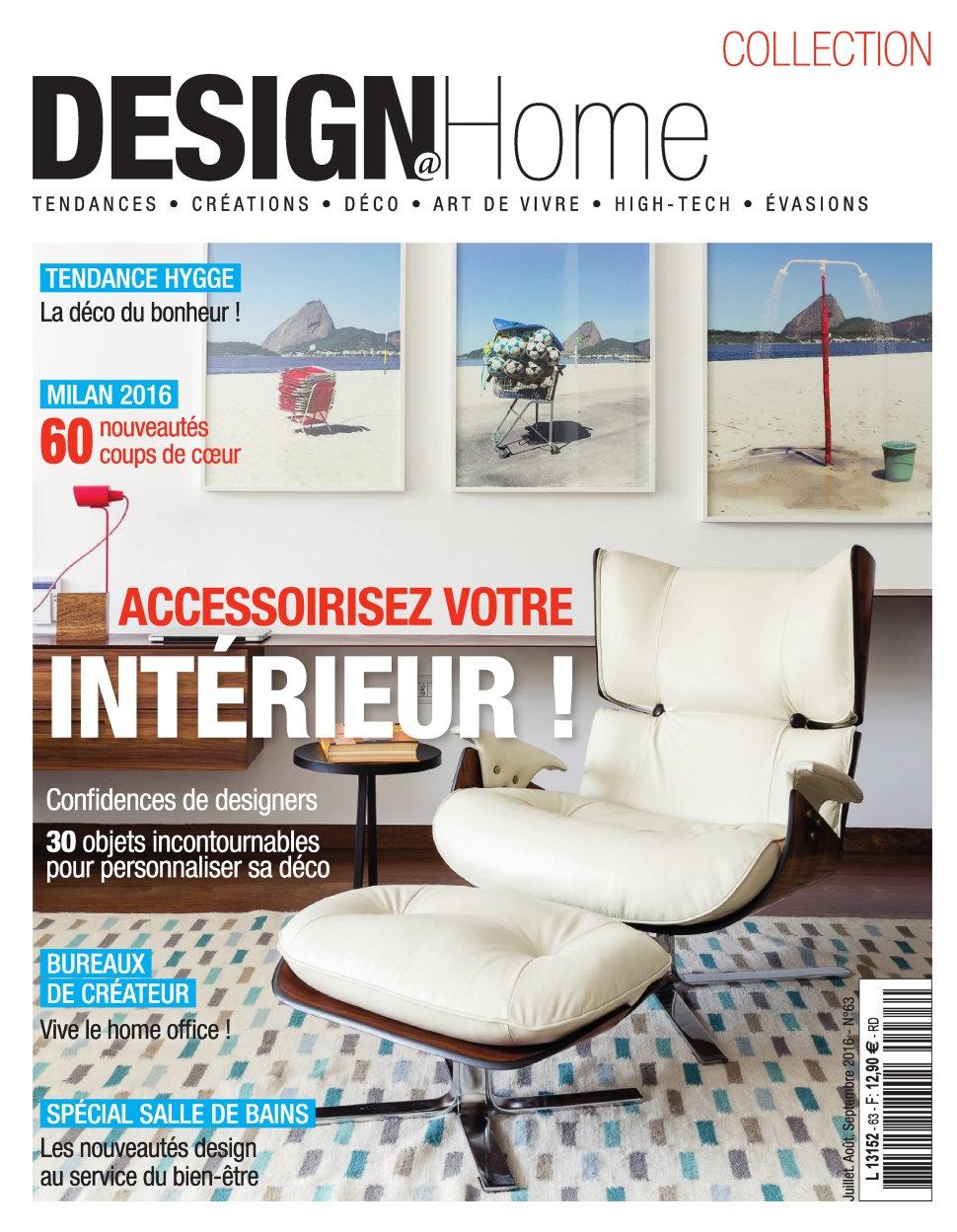 Design@Home N°63 - Juillet/Septembre 2016
