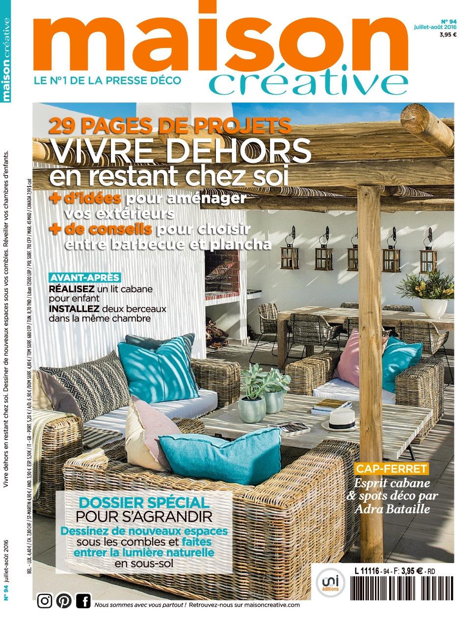 Maison Créative N°94 - Juillet/Aout 2016