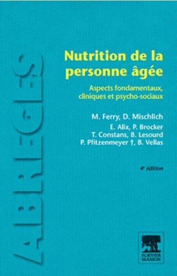 télécharger Nutrition de la personne agée 4° édition