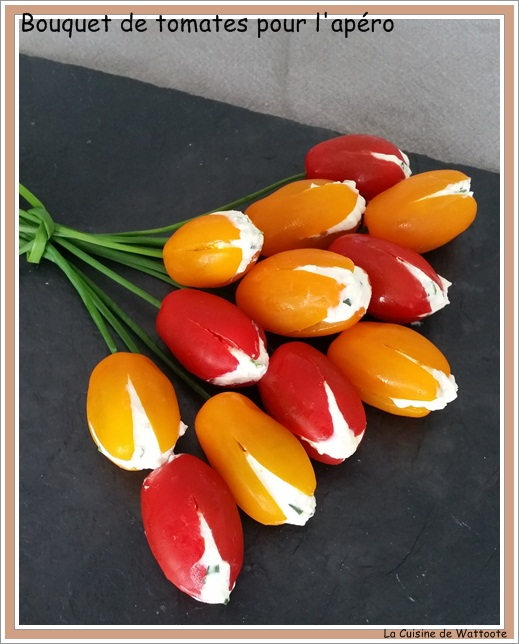 bouquet tomate