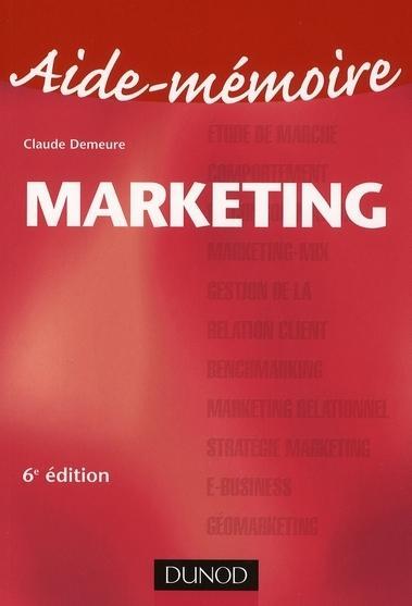 Aide mémoire de marketing