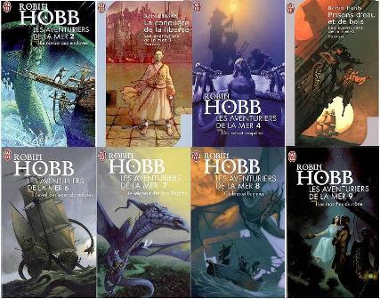 Robin Hobb - Les aventuriers de la mer - cycle complet