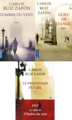 Zafon - Trilogie cimetiere des livres