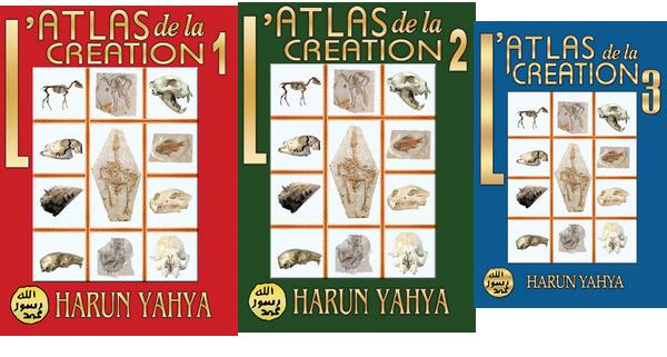L'ATLAS DE LA CREATION - 3 VOLUMES