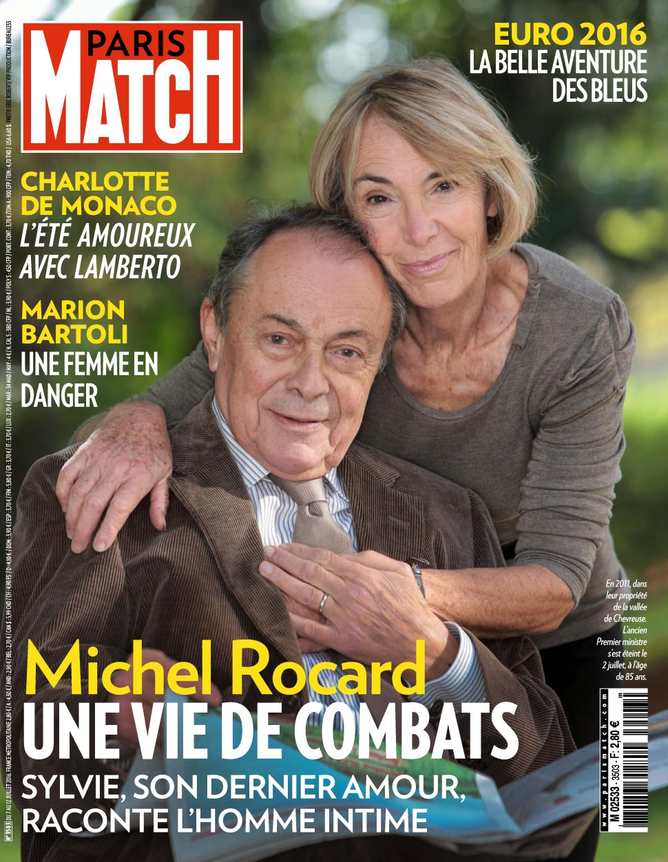 Paris Match N°3503 - 07 au 13 Juillet 2016