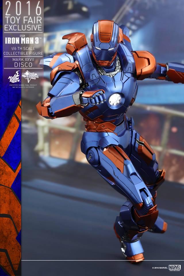 """IRON MAN 3 - MARK XXVII """"DISCO"""" (MMS371) 160707115548208607"""