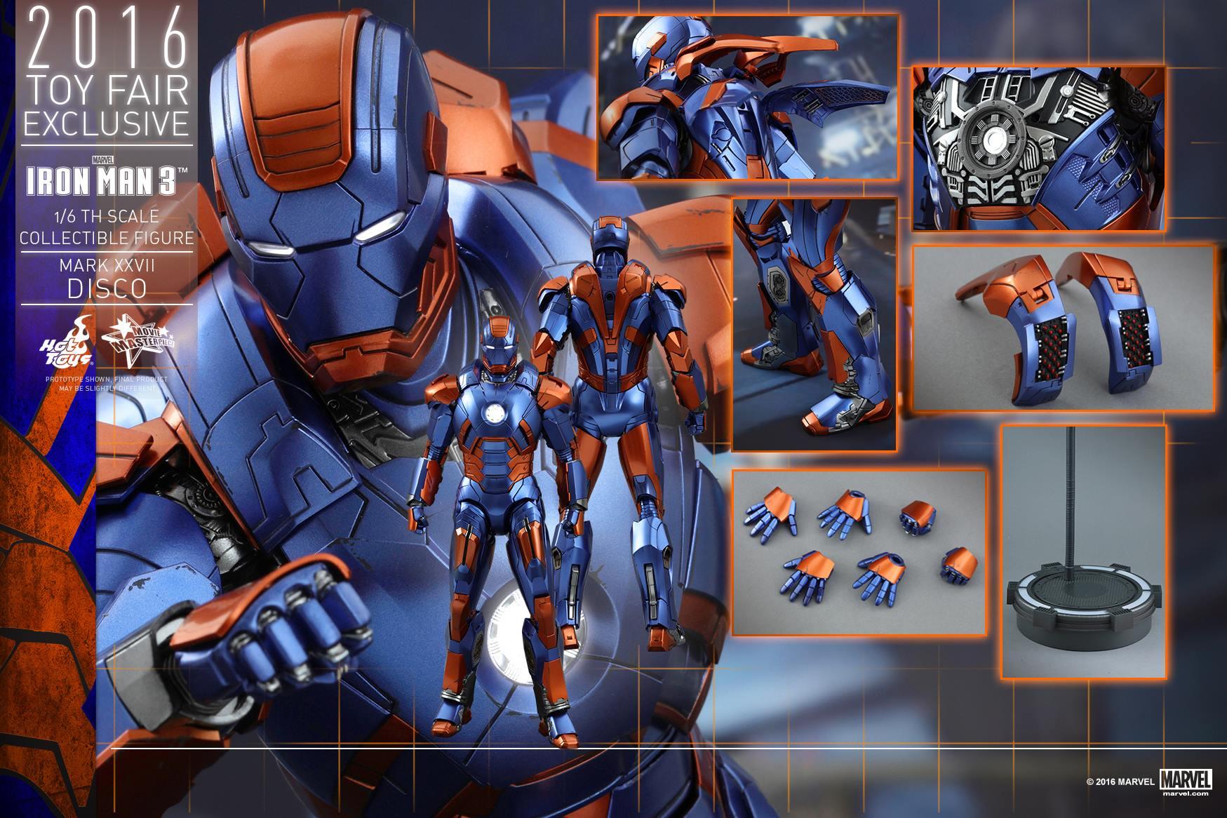 """IRON MAN 3 - MARK XXVII """"DISCO"""" (MMS371) 160707115603488580"""