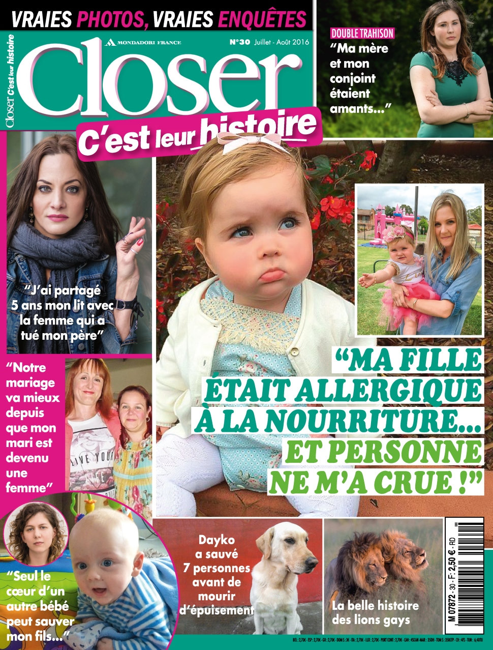 Closer Real Life N°30 - Juillet/Aout 2016
