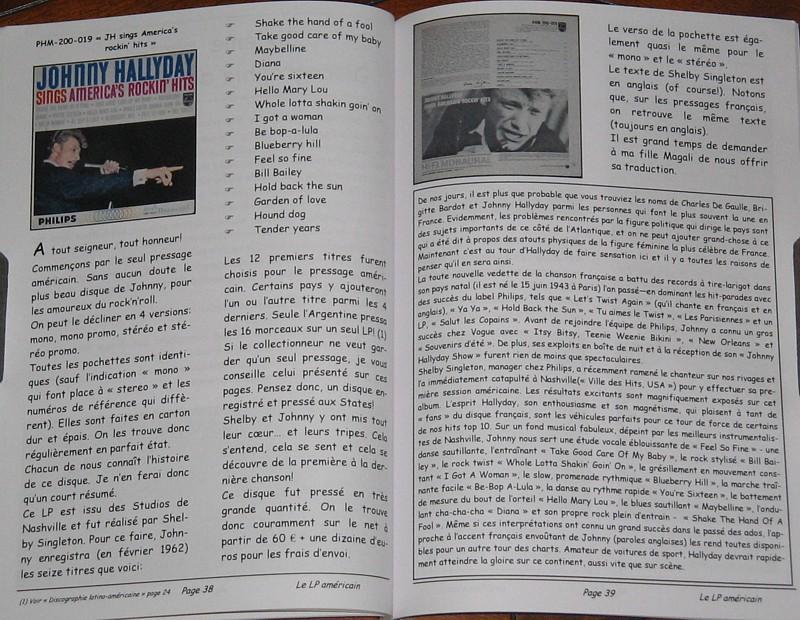 JOHNNY HALLYDAY: DISCOGRAPHIE DU BOUT DU MONDE 160710075432332787