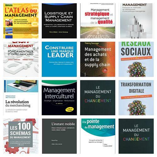 Pack 1 – Management – 16 livres
