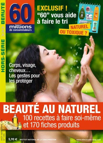 60 millions de consommateurs Hors-Série - Août-Septembre 2016