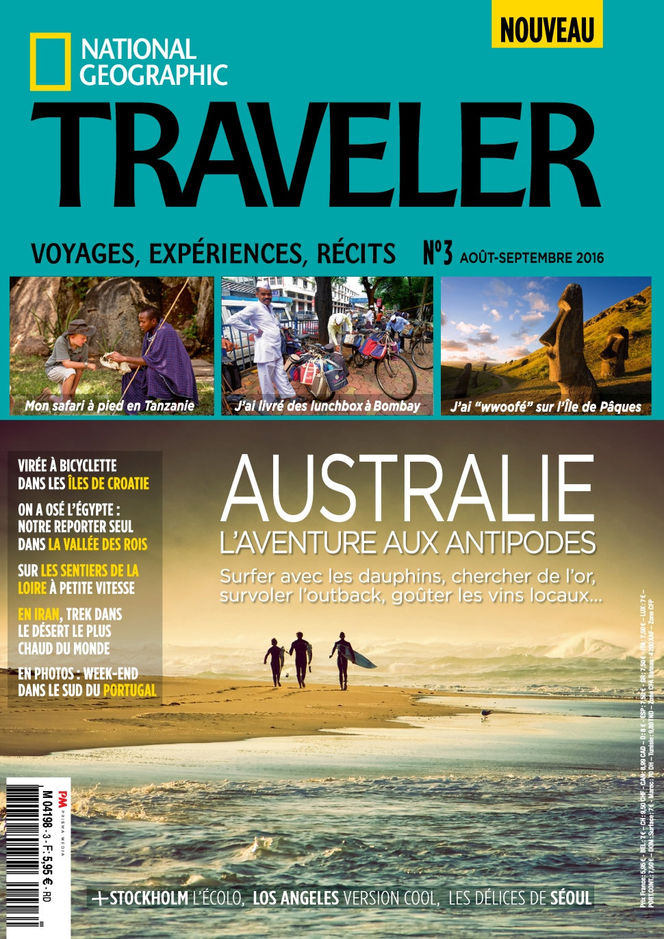 National Geographic Traveler N°3 - Aout/Septembre 2016