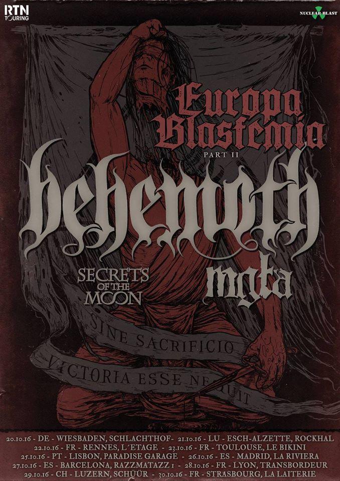 Behemoth @ Rennes