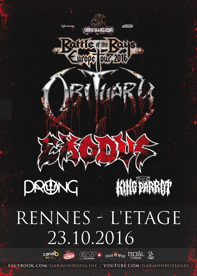 Obituary @ Rennes