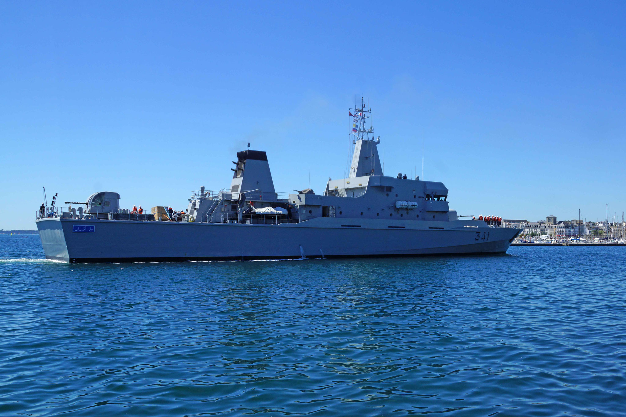 Royal Moroccan Navy OPV-70 / Classe Bir Anzarane - Page 5 160726073306812839