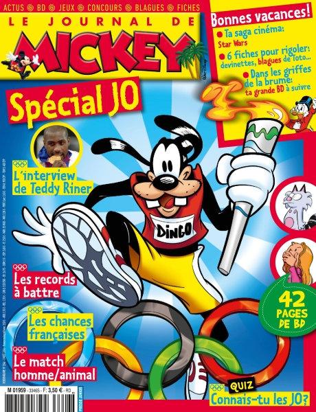 Le Journal de Mickey n°3346 - 3 Août 2016