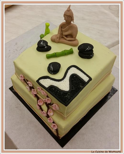 gâteau esprit zen
