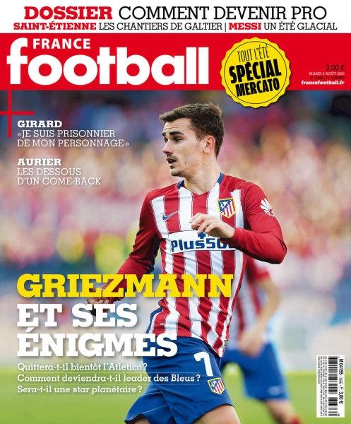 France Football N°3666 - 2 Août 2016